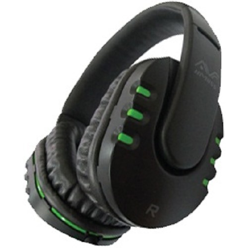 AVF Headset [HM 055] - Green - Gaming Headset